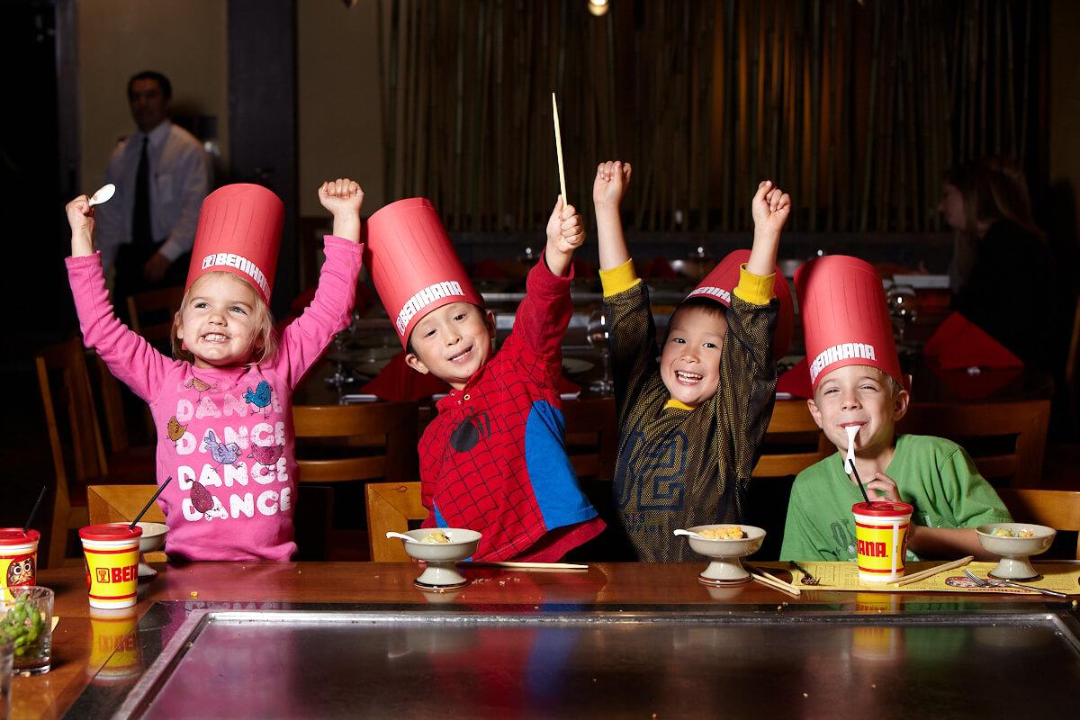 Sushi japanese steakhouse teppanyaki restaurant benihana for Kids restaurants