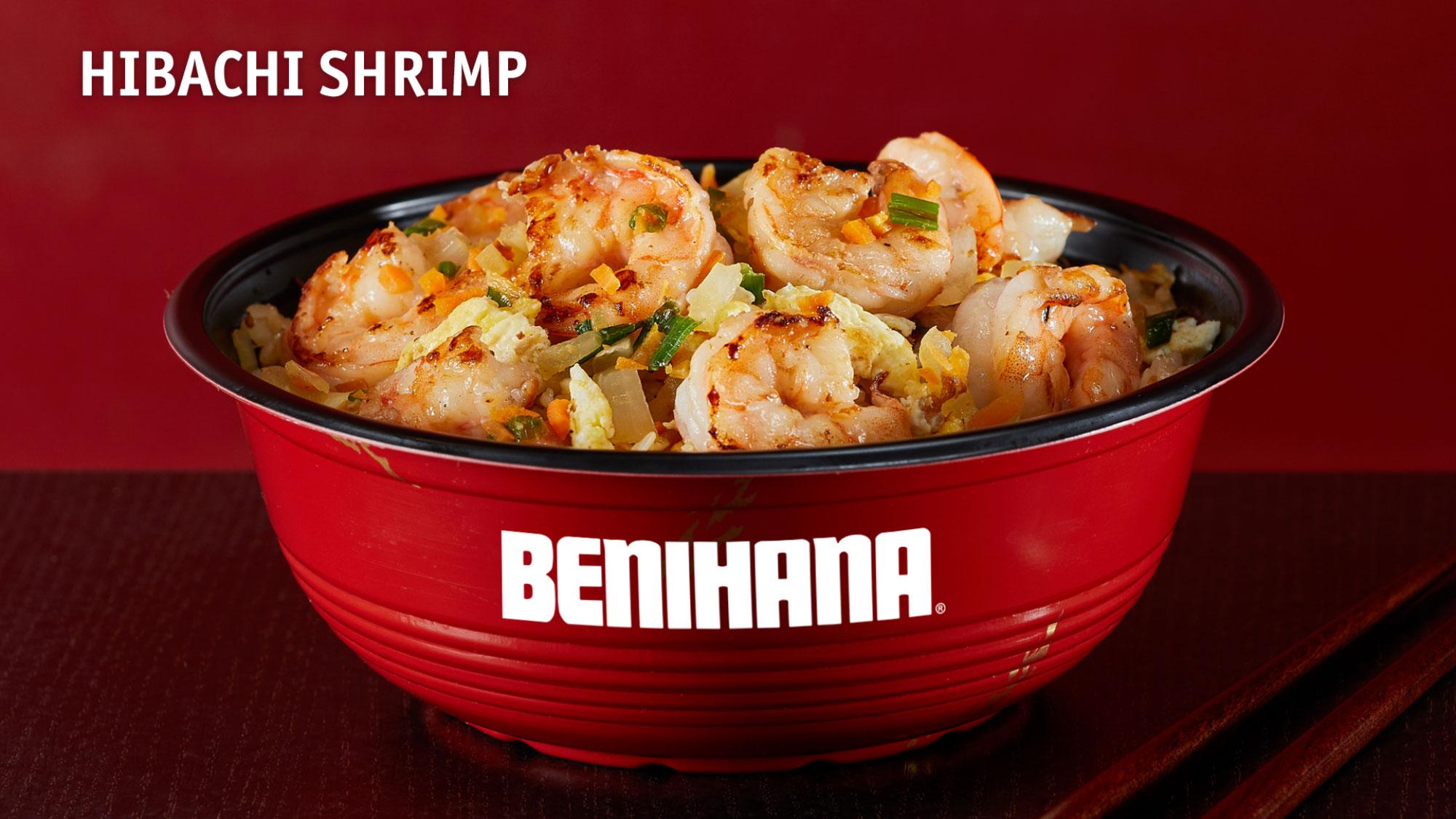 Hibachi Shrimp Bowl